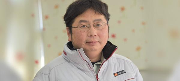 営業部長兼施工管理 生川 心平
